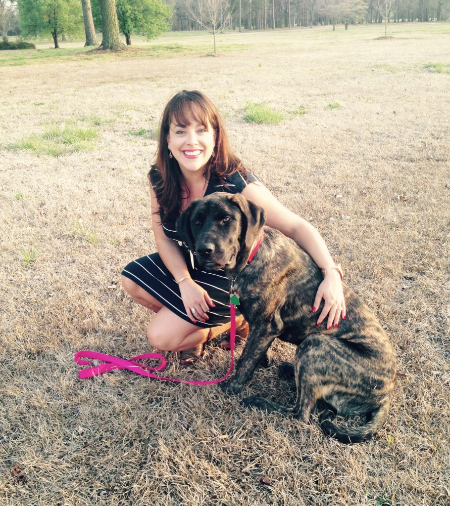 lindsey germono of germono ads agency and dog athena