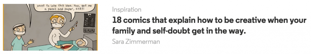 headline example from upworthy