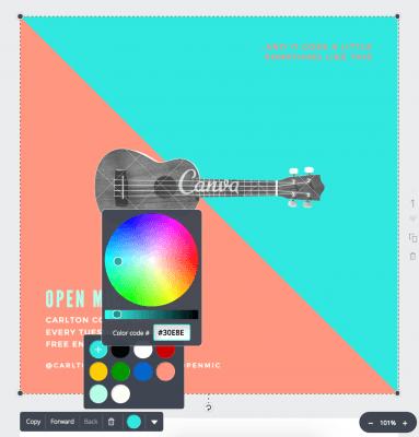 hex color change for branding