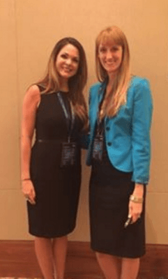 jennifer holland and laura petersen at impact16 podcast interview