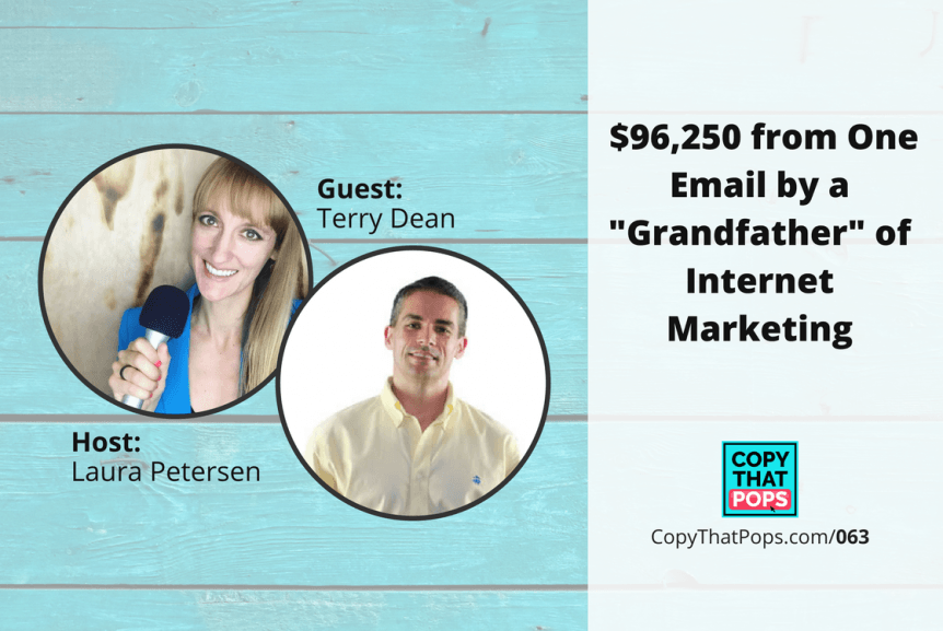 "$96,250 from One Email by a ""Grandfather"" of Internet Marketing, Terry Dean"