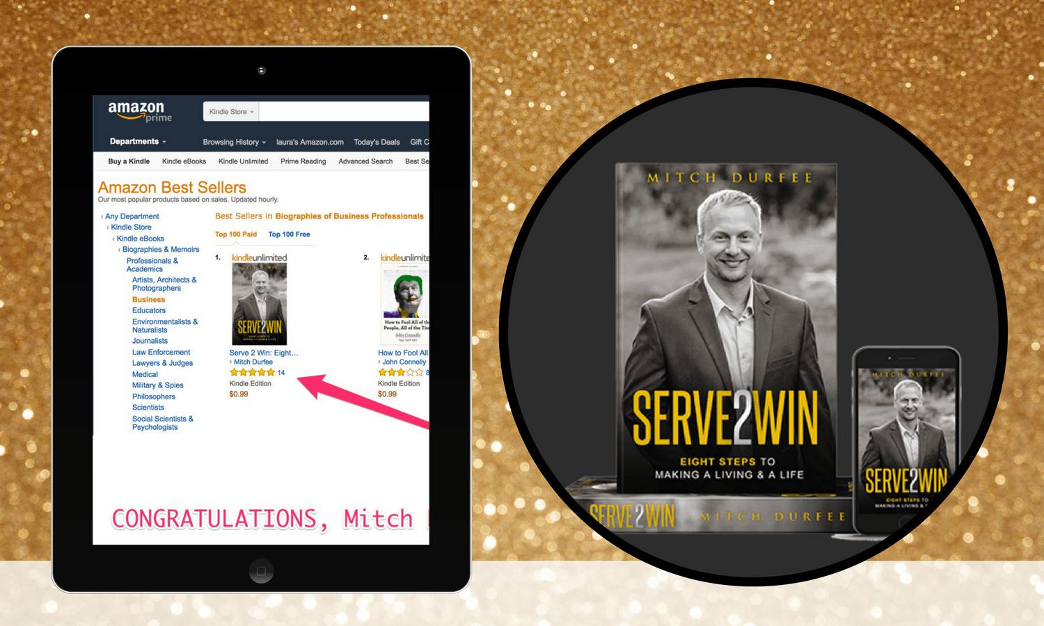bestselling author mitch durfee