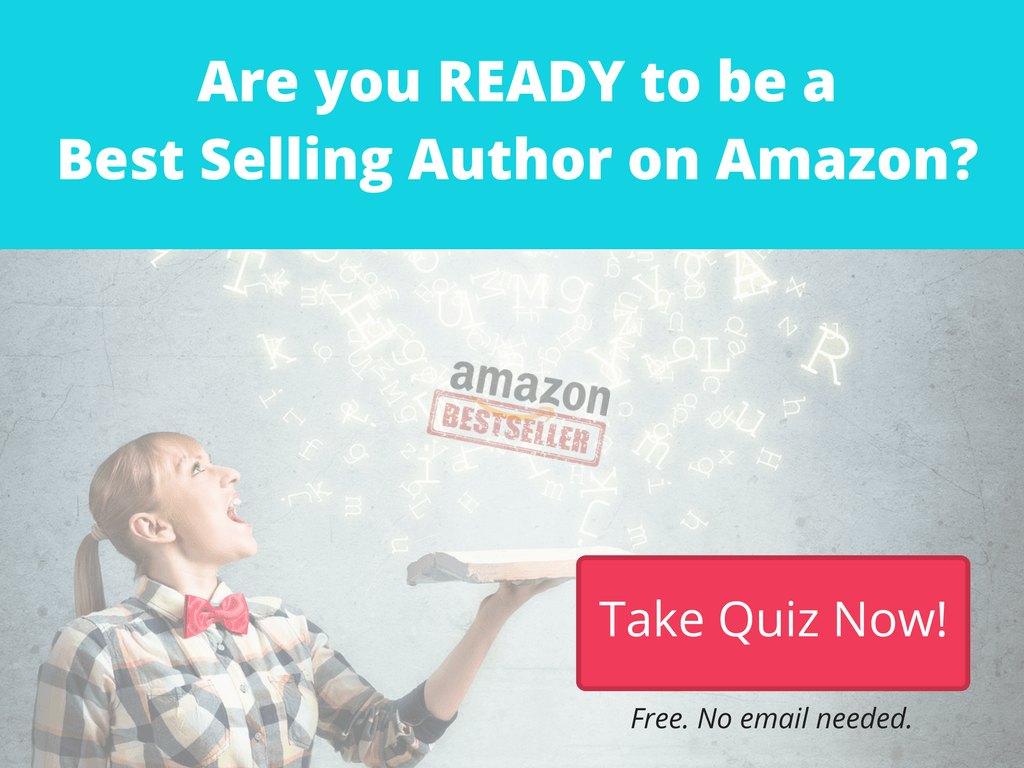 free quiz if you are ready to be an amazon best selling author