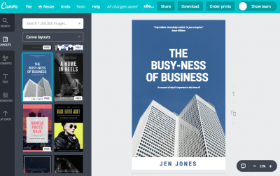 Design a gorgeous, free e-book cover with Canva   Laura Petersen, Copy That Pops