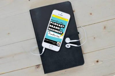 Once you've written your nonfiction book, consider turning it into an audiobook! | Laura Petersen, Copy That Pops